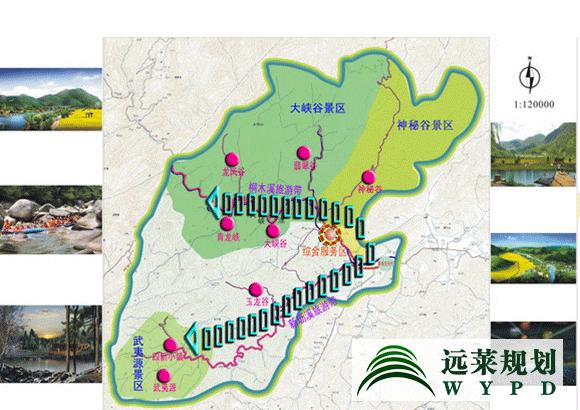 """为做大做强做精品,扩大和预留发展空间,规划将武夷山国家森林公园控制面积由现有的30.85平方公里扩大到约195平方公里,以利于以国家森林公园为品牌载体,做强做大武夷山国家森林公园。为此,规划提出""""一心三区、二带八景""""的整体布局;构建了武夷山养身旅游产品和养心旅游产品体系,通过运动养生、茶道养生、饮食养生、氧吧养生、音乐养生、书吧养生、心理咨询、艺术欣赏等来达到调理身心的作用;提出了通过建立专门的工作机构、组建旅游股份公司和出台专门的管理办法等的统一经营管理方案。"""